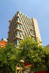Moderne Architektur in Santiago de Chile