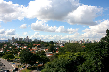 Blick auf Sao Paulo