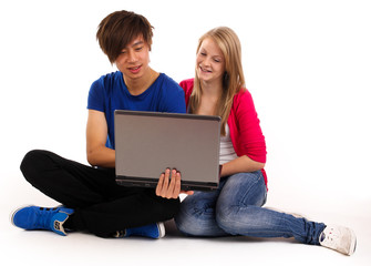 11.2011 Teenager mti Laptop