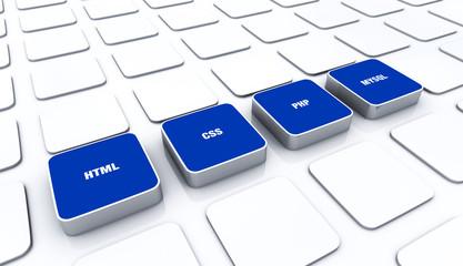 3D Pads Blau - HTML CSS PHP MYSQL 4
