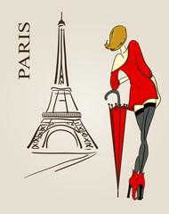 Paris scetch