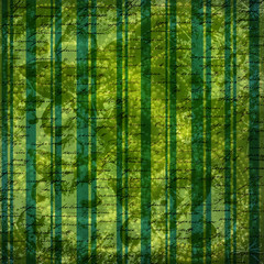 Grunge green background with ancient ornament for st Patrick