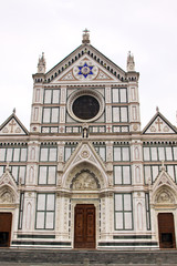 The Basilica di Santa Croce famous Franciscan church on Florence