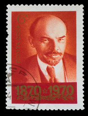 USSR - CIRCA 1970: A Stamp printed in USSR, shows old portrait o