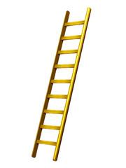 Leiter in Gold, Himmelsleiter