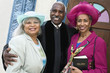 Portrait of senior African American women and Reverend