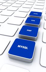 3D Pads Blau - HTML CSS PHP MYSQL 6