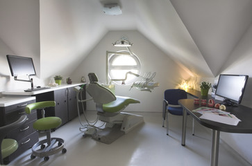A new and clean dentist surgery