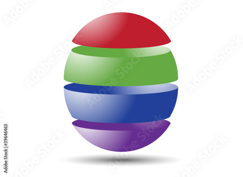4 Part Sphere