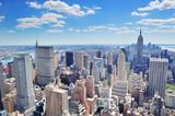 Fototapety New York City Manhattan panorama