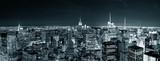 Fototapety New York City Manhattan skyline at night
