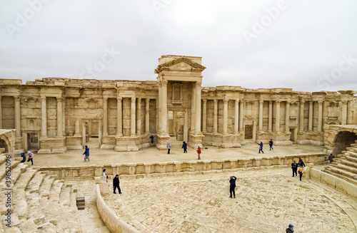 the Theater, Palmyra