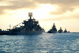 Fototapete Kriegsschiff - Navy - Andere