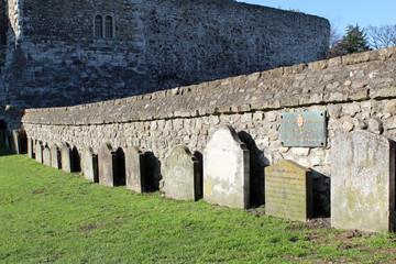 Graves in Rochester Castle