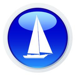 Ícone com um veleiro