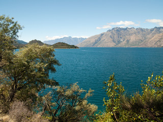 Lac Wakatipu à Queenstown