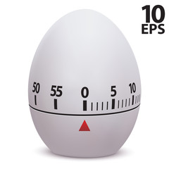 Egg timer. Vector illustration