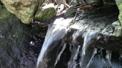 entspannender Wasserfall
