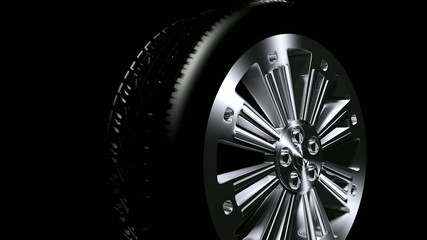 powerful  tire
