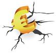 concept - euro crisis