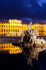 Wien bei Nacht, Schönbrunn