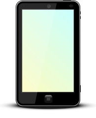 Telefono amarillo-azul