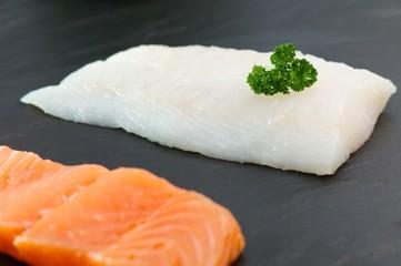 2 Stücke Fisch