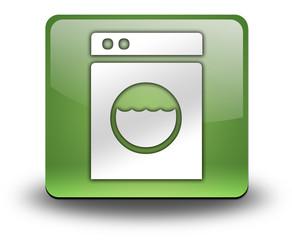 "Green 3D Effect Icon ""Laundromat"""