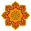 Lotus Sri Yantra Design