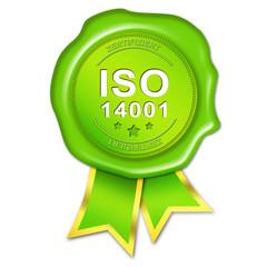 ISO 14001 Siegel
