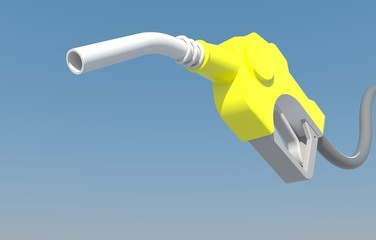 dripping gas pump nozzle
