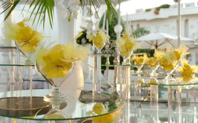 buffet, preparazioni limoni