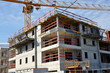 logements immeuble chantier de contruction