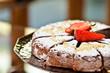 torta sul piatto