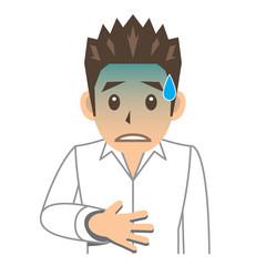 シャツ 男性 B 病気 腹痛