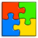 Combined multi-color puzzle 2