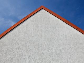 house against blue sky