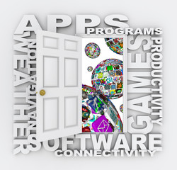 Open Doors to World of Apps Software Applications