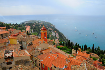 View of Roquebrune-Cap-Martin