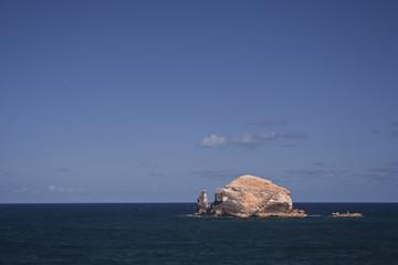 La Pointe des Chateaux in Guadeloupe