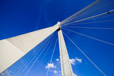 Suspension Bridge Abstract Architecture