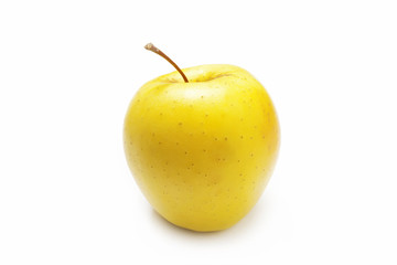 A yellow apple
