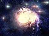 Fototapety Abstract fantastic space storm