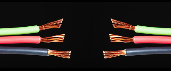 Electrical cable.