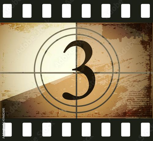 Grunge film countdown