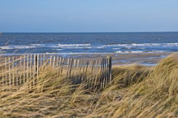 Strand in der Normandie