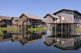 Houses at Inle Lake