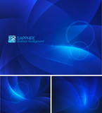 Sapphire Abstract Background