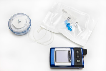 Insulin Pump, Infusion Set and Reservoir