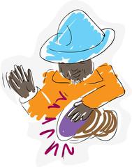 Drummer Illustration